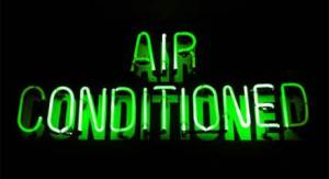 air-conditioned-sign